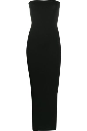Wolford Women Party Dresses - Strapless maxi dress