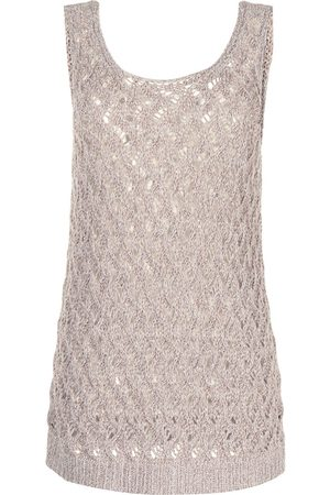 Fabiana Filippi Women Camisoles - Open-knit vest