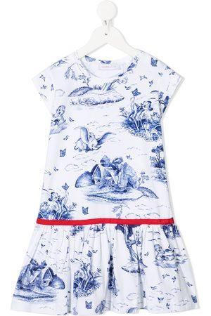 MONNALISA Dumbo print dress