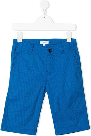 HUGO BOSS Logo-printed Bermuda shorts