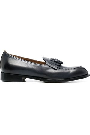 Doucal's Men Loafers - Harley leather loafers