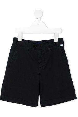 Il gufo Gathered-detail bermuda shorts