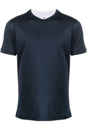 Brunello Cucinelli Men Short Sleeve - Round-neck short-sleeved t-shirt