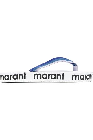 Isabel Marant Women Flip Flops - Logo-printed flip-flops