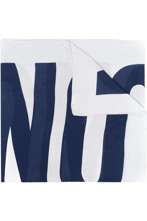 Moschino Men Scarves - Logo-print scarf