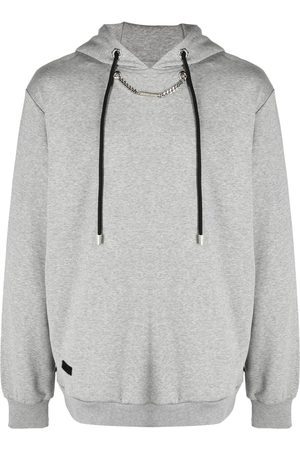 Philipp Plein Men Sweatshirts - Chain-link hoodie