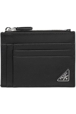 Prada Men Wallets - Triangle logo cardholder