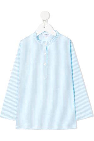 SIOLA Striped button-up shirt