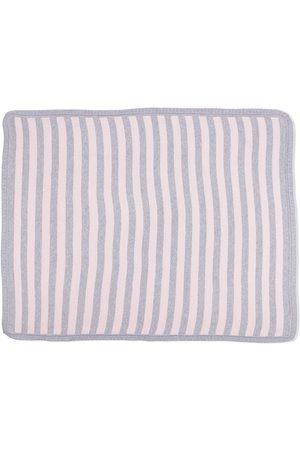 SIOLA Striped cotton blanket