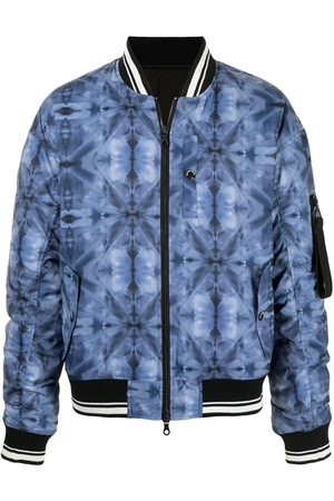MOSTLY HEARD RARELY SEEN Men Bomber Jackets - Kaleidoscope bomber jacket
