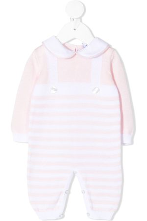 SIOLA Striped knitted romper