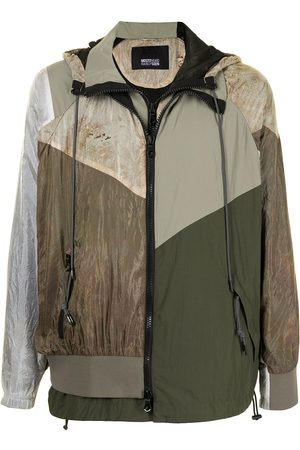 MOSTLY HEARD RARELY SEEN Men Jackets - Every Which Way windbreaker