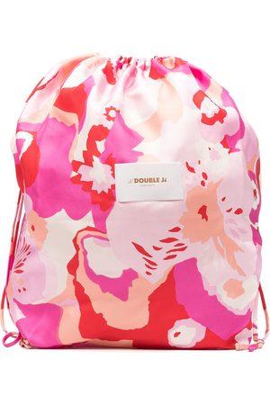 La DoubleJ Women Tote Bags - Logo tie-dye bag