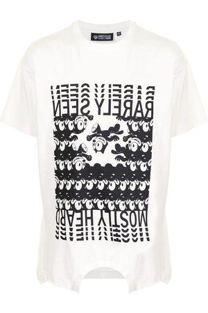 MOSTLY HEARD RARELY SEEN Men Short Sleeve - Branded Felix Upside Down T-shirt