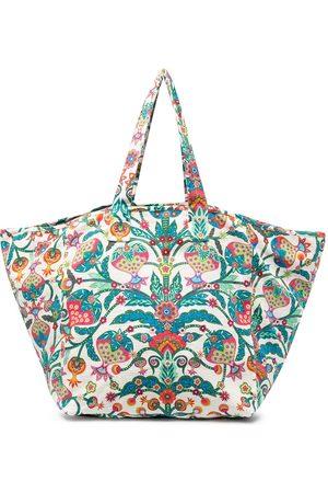 La DoubleJ Women Handbags - Paisley reversible tote