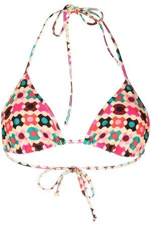 La DoubleJ Women Bikinis - Geometric triangle bikini top