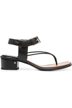 LAURENCE DACADE Ankle-strap block-heel sandals