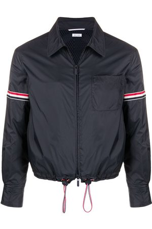 Thom Browne Men Hoodies - Armband zip-up jacket