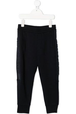 Emporio Armani Boys Pants - Side stripe-detail track pants