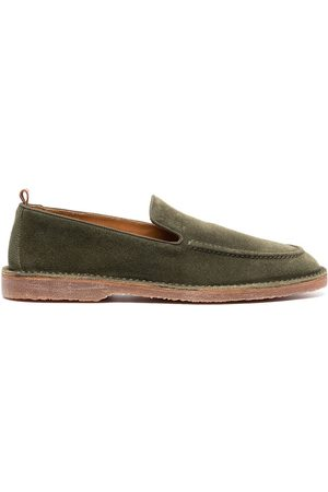 Buttero Men Loafers - Suede-leather loafers