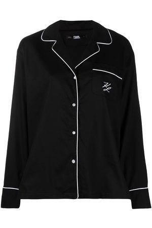 Karl Lagerfeld Women Tops - Logo embroidered pajama top