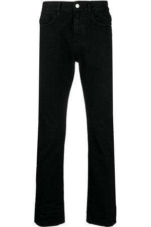McQ High-rise straight leg jeans
