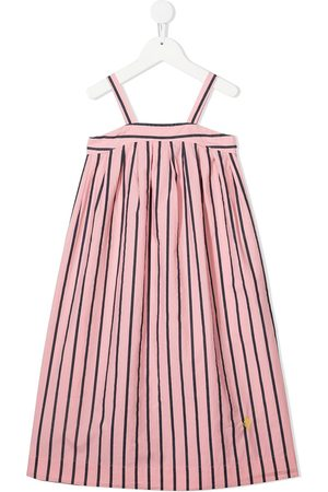 The Animals Observatory Striped cotton sundress