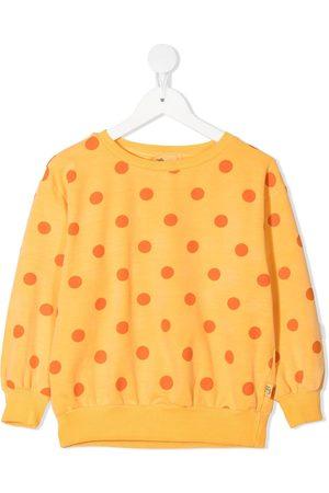 Weekend House Kids. Girls Sweatshirts - Polka-dot sweatshirt