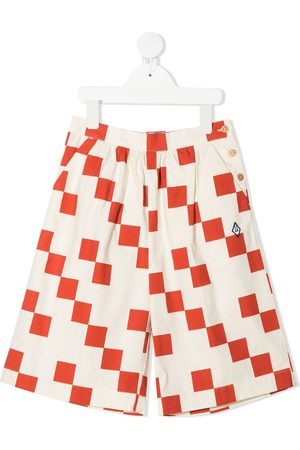 The Animals Observatory Boys Shorts - Checkered shorts