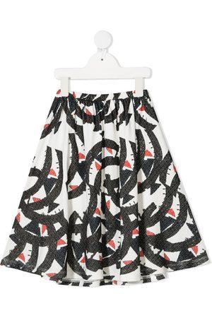 Wolf & Rita Graphic print midi skirt