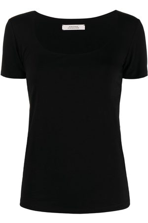 Dorothee Schumacher Square-neck short-sleeve T-shirt