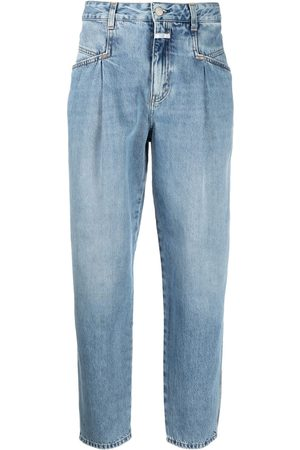 Closed Women Tapered - High-rise tapered organic cotton jeans
