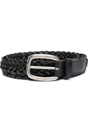 Golden Goose Houston braided belt