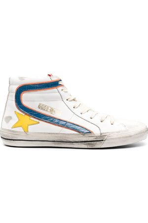 Golden Goose Men Sneakers - Slide high-top sneakers