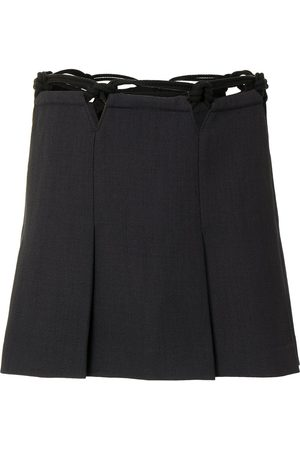 DION LEE Macramé mini skirt