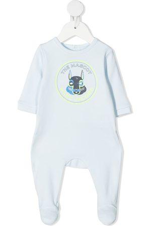 The Marc Jacobs Baby Pyjamas - Logo-print cotton pajamas