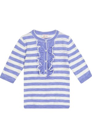 MORLEY Girls Jumpers - Nixie striped cotton-blend sweater