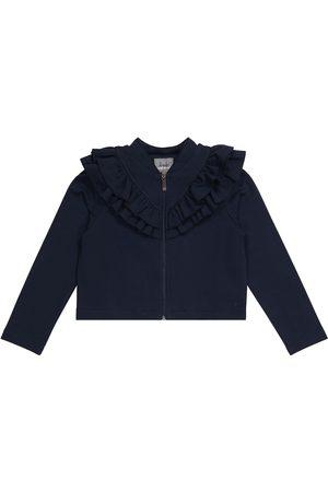Il gufo Girls Cardigans - Cotton jersey cardigan