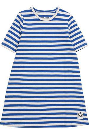 Mini Rodini Striped stretch-cotton jersey dress