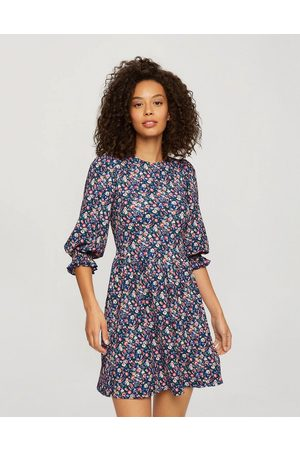 adidas Smock dress in ditsy floral