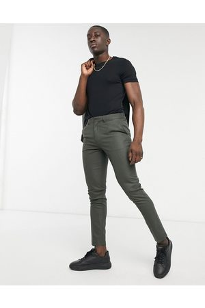 adidas Skinny suit trousers in forest