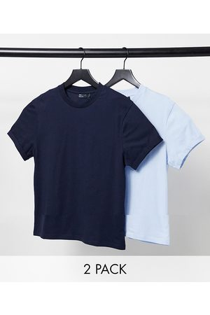 adidas 2 pack organic t-shirt with roll sleeve-Multi