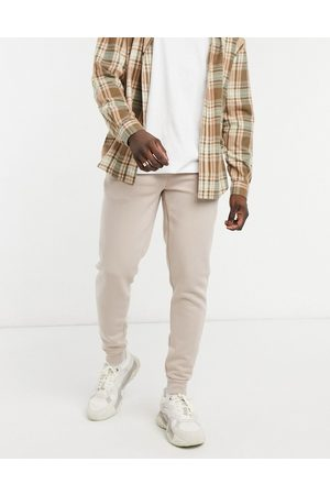 River Island Joggers in stone-Neutral