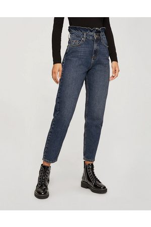 adidas Women Boyfriend - Mom jeans with frill detail in