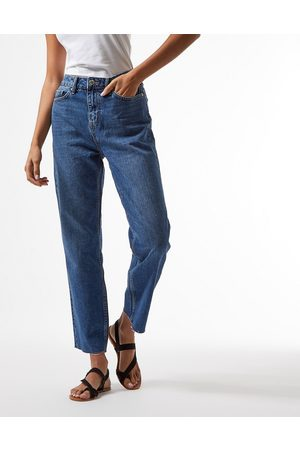 Miss Selfridge High-waist slim leg jean in indigo wash