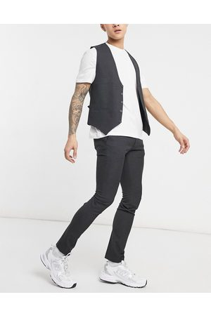 adidas Plain skinny suit trousers in