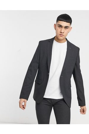adidas Plain skinny suit jacket in