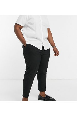 adidas Plus tapered smart trousers in