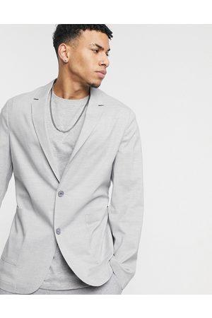 adidas Skinny soft tailored blazer in