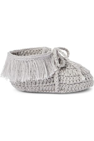 adidas Loafers - Baby's Hand-Crocheted Moccasins Booties